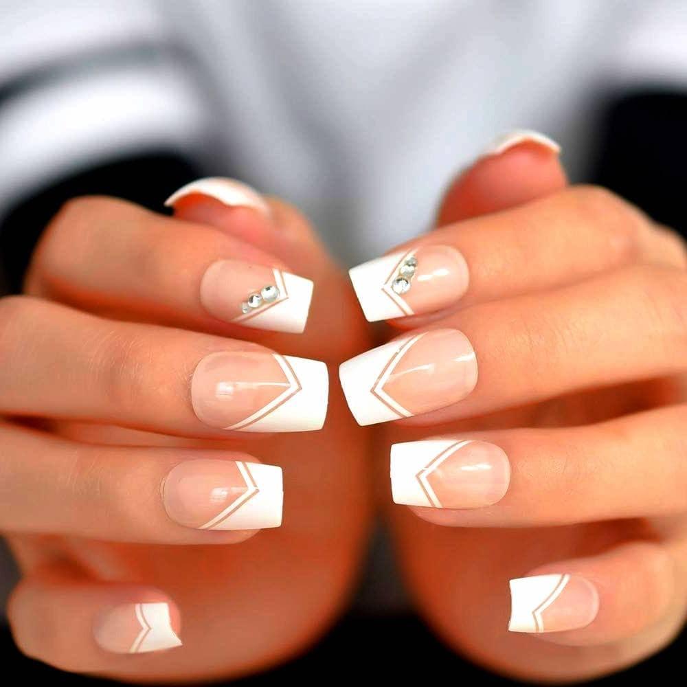 diseño uñas de gel Square