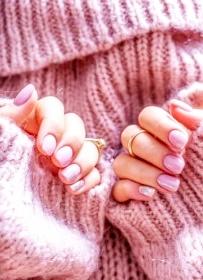 uñas de gel abrigo