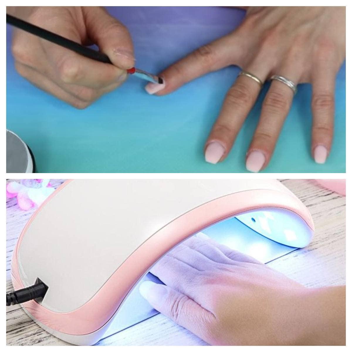 gel constructor como poner uñas de gel