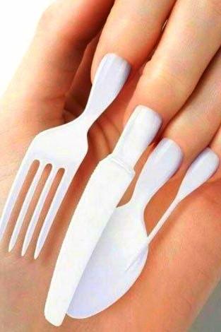 diseño uñas acrílicas cubiertos
