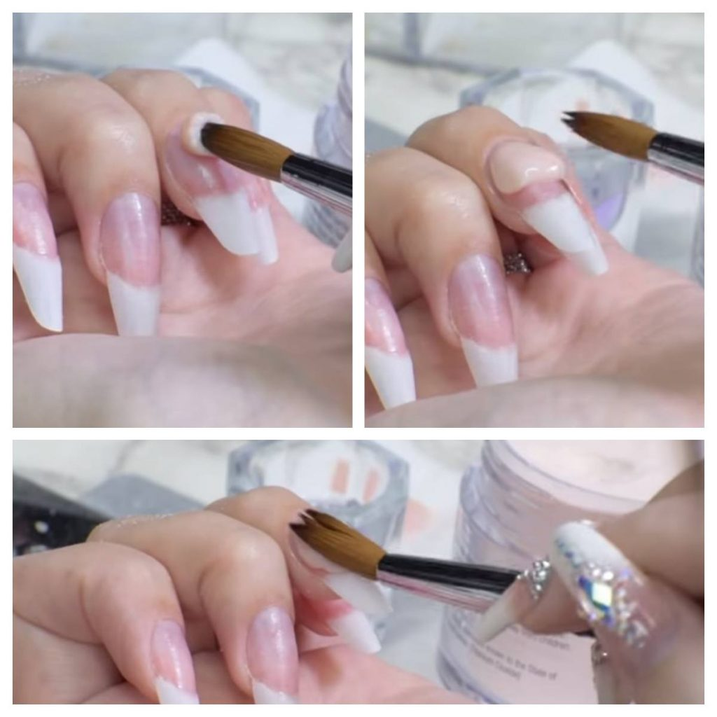 aplicación para hacer uñas de gel
