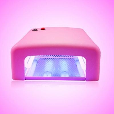 lámpara UV para uñas de gel